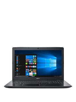 Acer Aspire E 17 Intel&Reg Core&Trade I5 8Gb Ram 1Tb Hard Drive 17.3 Inch Laptop With Optional Microsoft Office 365 Home  Black  Laptop Only