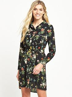 oasis-winter-lily-shirt-dress