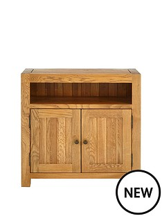 luxe-collection-grantham-100-solid-oak-ready-assembled-compact-sideboard