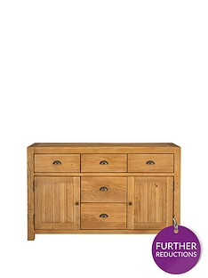 luxe-collection---grantham-100-solid-oak-ready-assembled-large-sideboard