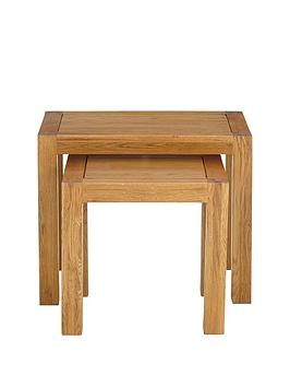 Luxe Collection Luxe Collection - Grantham 100% Solid Oak Ready Assembled  ... Picture