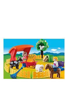 playmobil-petting-zoo