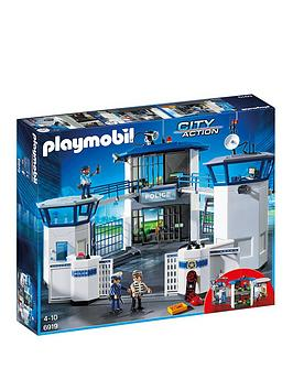 PLAYMOBIL Playmobil Playmobil 6919 City Action Police Headquarters With  ... Picture