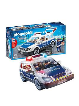 PLAYMOBIL Playmobil Playmobil 6920 City Action Police Squad Car With  ... Picture