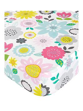 catherine-lansfield-floral-patchwork-double-fitted-sheet-twin-pack