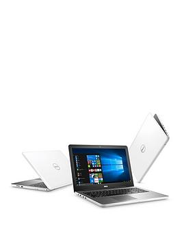 Dell Inspiron 155000 Series Amd A6 8Gb Ram 1Tb Hard Drive 15.6 Inch Laptop With Optional Microsoft Office 365 Home  White  Laptop With Microsoft Office 365 Home