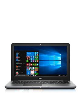 Dell Inspiron 155000 Series Intel&Reg Core&Trade I7 16Gb Ram 256Gb Ssd 15.6 Inch Full Hd Laptop With Amd Radeon R7 4Gb Graphics And Optional Microsoft Office 365 Home  Black  Laptop With Micr