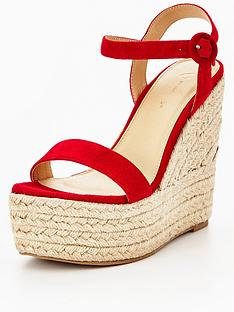 myleene-klass-marni-real-suede-wedge-red