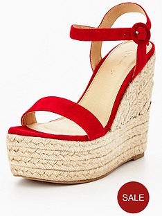 myleene-klass-marni-real-suede-wedge-red