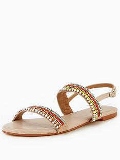 v-by-very-brianna-embellished-flat-sandal--nude
