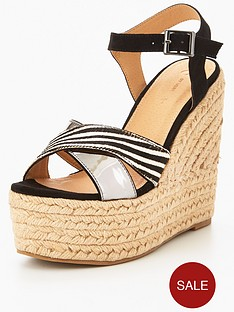 v-by-very-zebra-crossover-leather-wedge-sandal