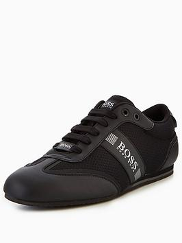 Boss Boss Green Lighter Low Trainers - Black Picture