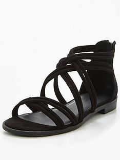 v-by-very-honey-strappy-flat-sandal-black