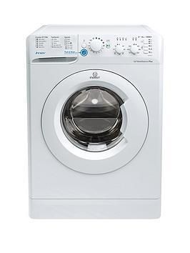 Indesit Innex Bwsc61252W 1200 Spin 6Kg Load Washing Machine  White