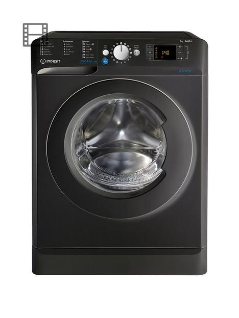 indesit-innex-bwe71452kukn-7kg-load-1400-spin-washing-machine-black