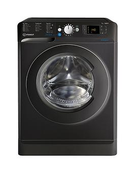 Indesit Innex Bwd71453K 7Kg Load 1400 Spin Washing Machine  Black