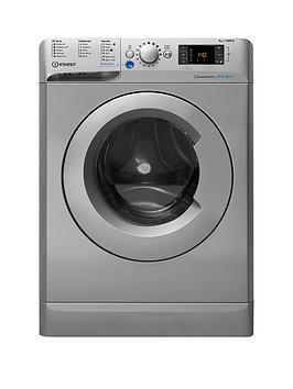 Indesit Innex Bwe91484Xs 9Kg Load 1400 Spin Washing Machine  Silver