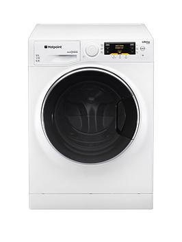 Hotpoint Ultima SLine Rpd9477Dd 9Kg Load 1400 Spin Ultima Washing Machine  Polar White