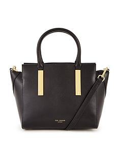 ted-baker-mini-grain-leather-winged-tote