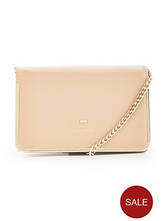ted-baker-high-box-metal-border-crossbody-taupe