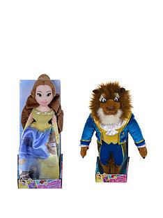 disney-beauty-and-the-beast-disney-beauty-amp-the-beast-twin-pack-10inch-beast-amp-belle
