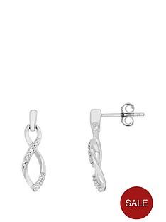 love-diamond-sterling-silver-rhodium-plate-diamond-set-infinity-drop-earrings