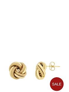 bracci-bracci-9ct-yellow-gold-10mm-textrue-and-plain-knot-stud-earrings