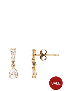 love-gold-9ct-yellow-gold-cubic-zirconia-dangle-earrings