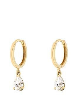 love-gold-9ct-yellow-gold-hoop-cubic-zirconianbsppear-drop-earrings