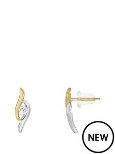 love-gold-9ct-gold-2-tone-cz-earrings