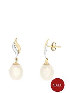 love-pearl-9ct-two-tone-75-8mm-freshwater-pearl-drop-stud-earrings