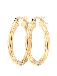 bracci-bracci-9ct-yellow-gold-19mm-swirl-hoop-creole-earrings