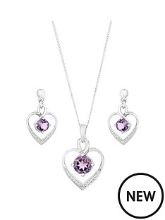love-gem-sterling-silver-rhodium-plate-amethyst-and-diamond-set-heart-pendant-and-earring-set
