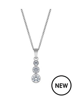 the-love-silver-collection-sterling-silver-cubic-zirconianbsptrilogy-pendant