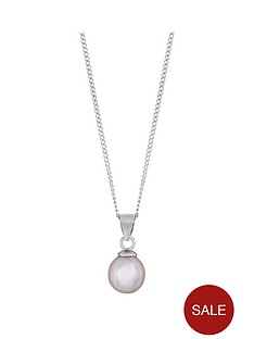 love-pearl-sterling-silver-rhodium-plated-7mm-pink-round-pearl-pendant-on-18-inch-curb-chain