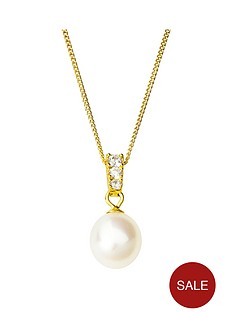 love-pearl-sterling-silver-gold-plated-freshwater-pearl-amp-cubic-zirconianbsppendant