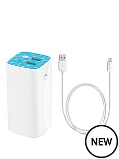 tp-link-tl-pb10400-10400mah-power-bank-ac210-lightning-cable-micro-usb-power-cable-bundle-ndash-white