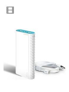 tp-link-15600mah-power-bank-apple-lighting-to-usb-cable-ndash-white