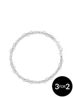the-love-silver-collection-sterling-silver-braided-bead-bracelet