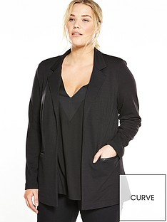 v-by-very-curve-jersey-blazer-black