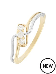 love-diamond-9ct-yellow-and-white-gold-12-point-diamond-trilogy-ring