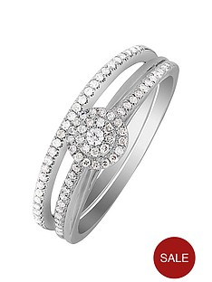 love-diamond-9ct-white-gold-25-point-diamond-bridal-ring-set