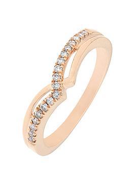love-diamond-9ct-rose-gold-12-point-diamond-wishbone-ring