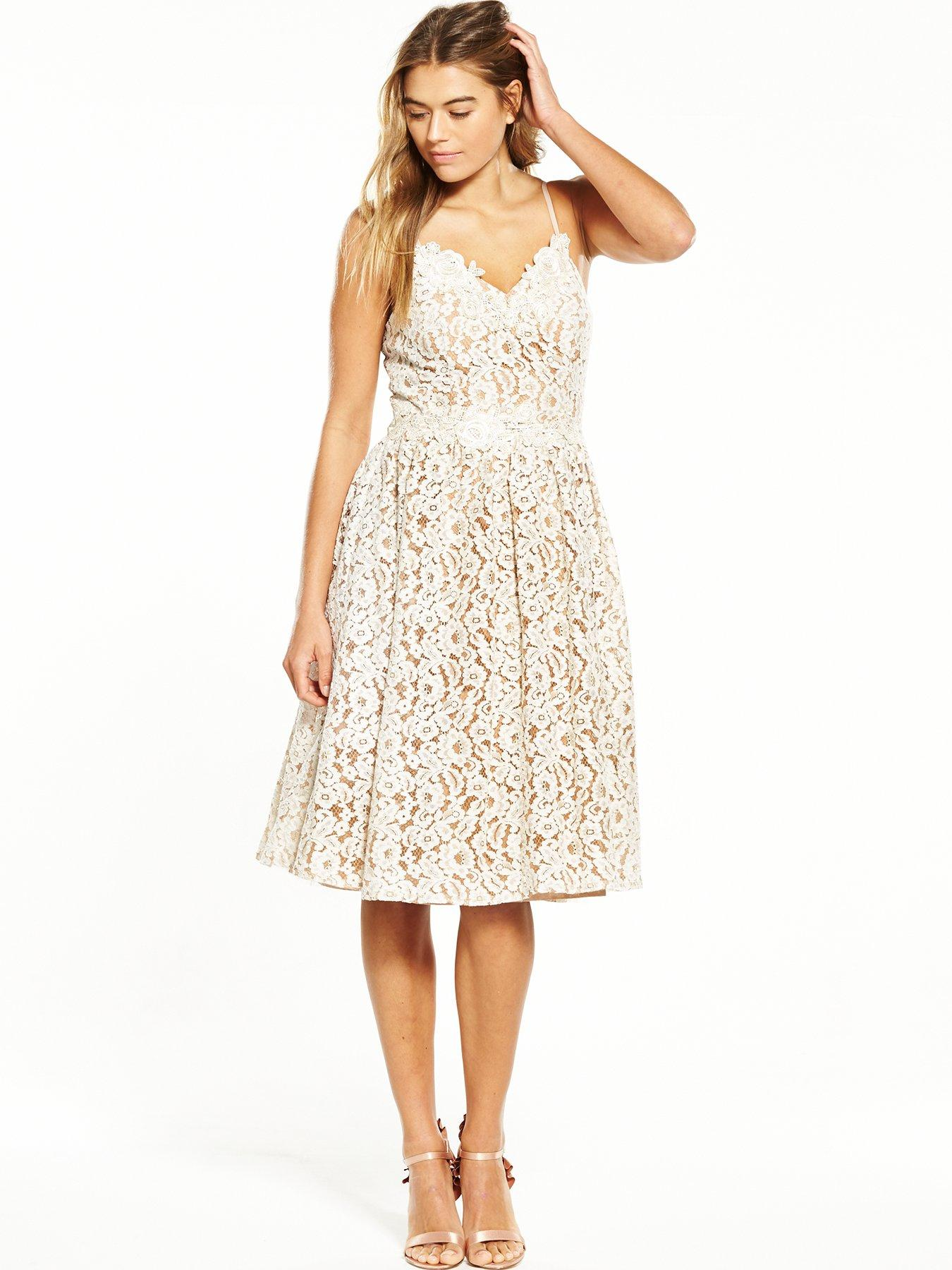 K and co lace dress no lining
