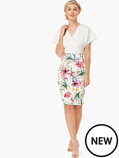 paper-dolls-kimono-2-in-1-printed-skirt-dress-cream