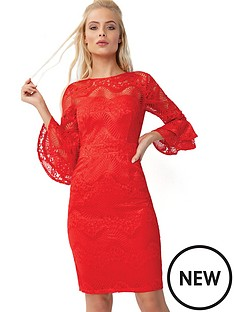 little-mistress-lace-pencil-dress
