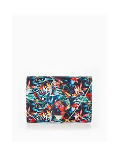 v-by-very-tropical-floral-print-envelope-clutch