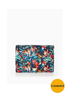 v-by-very-tropical-floral-print-envelope-clutch