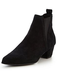 warehouse-suede-ankle-boots