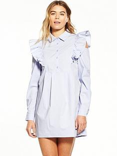 fashion-union-ruffle-shoulder-shirt-dress-lilac